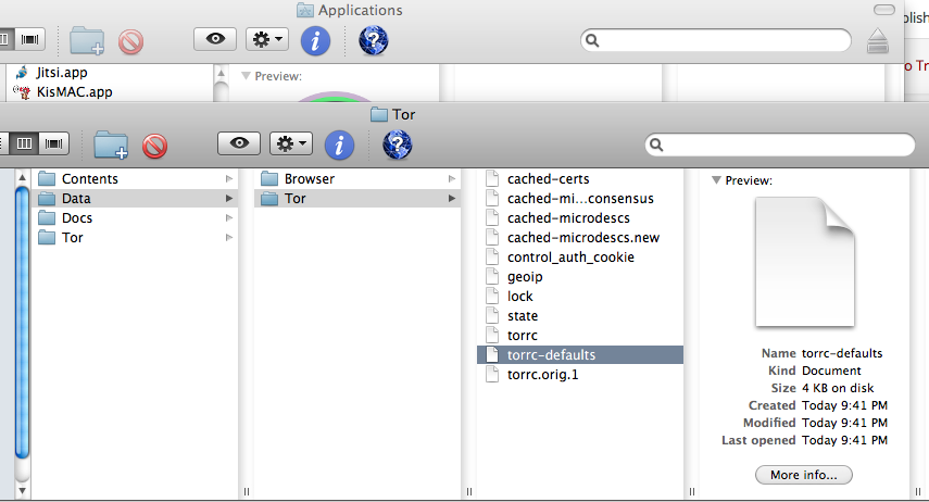 One Minute Mac Tip: Open multiple Tor circuits in the new