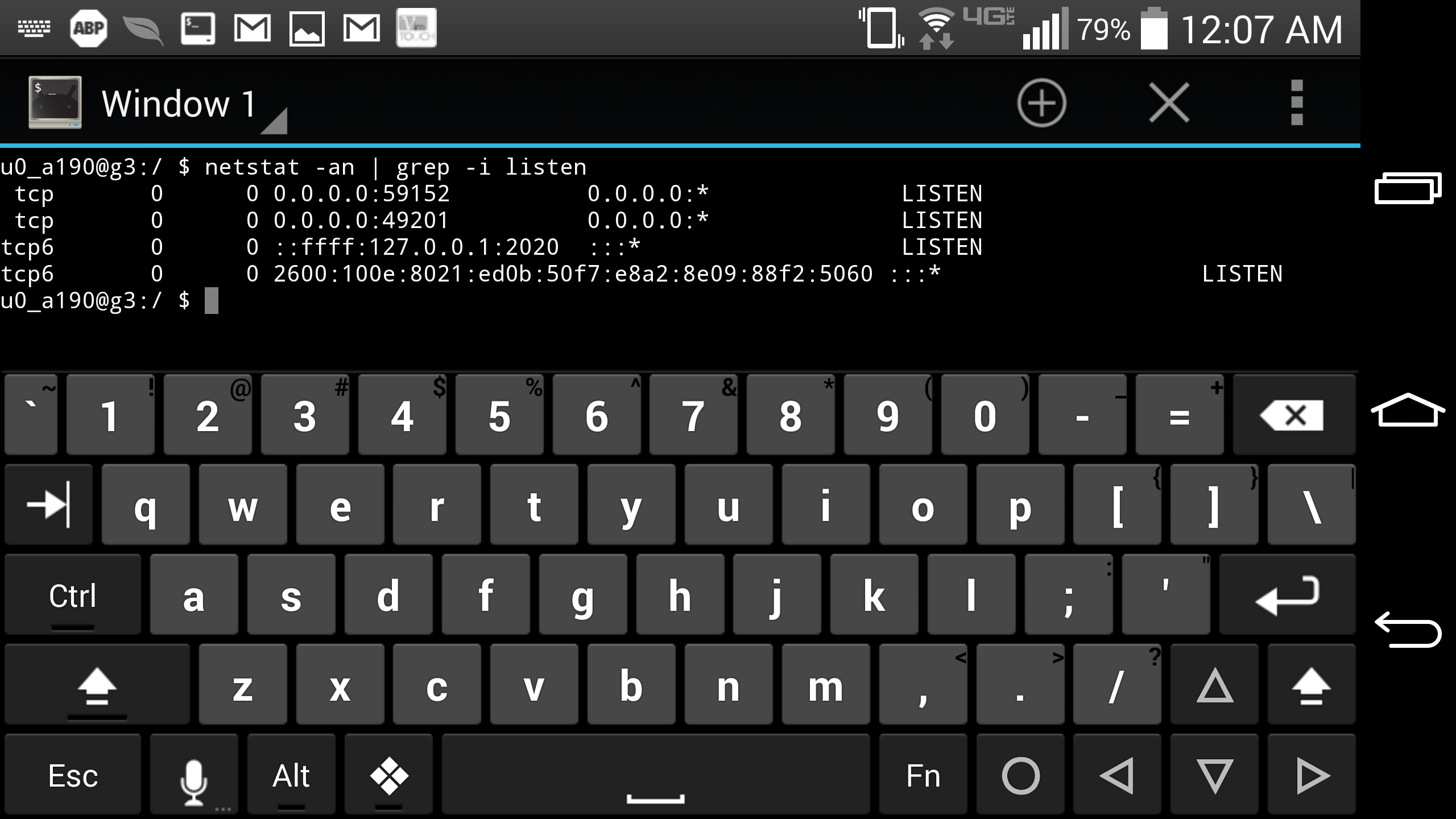 Phone Linux Android Phone turn your android phone into a full fledged programming screenshot of linux command line running on an using combination of